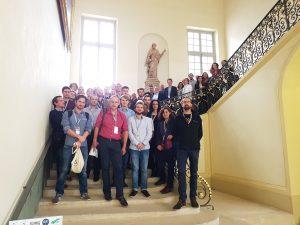 Participants des 8es journées de la Chémoinformatique